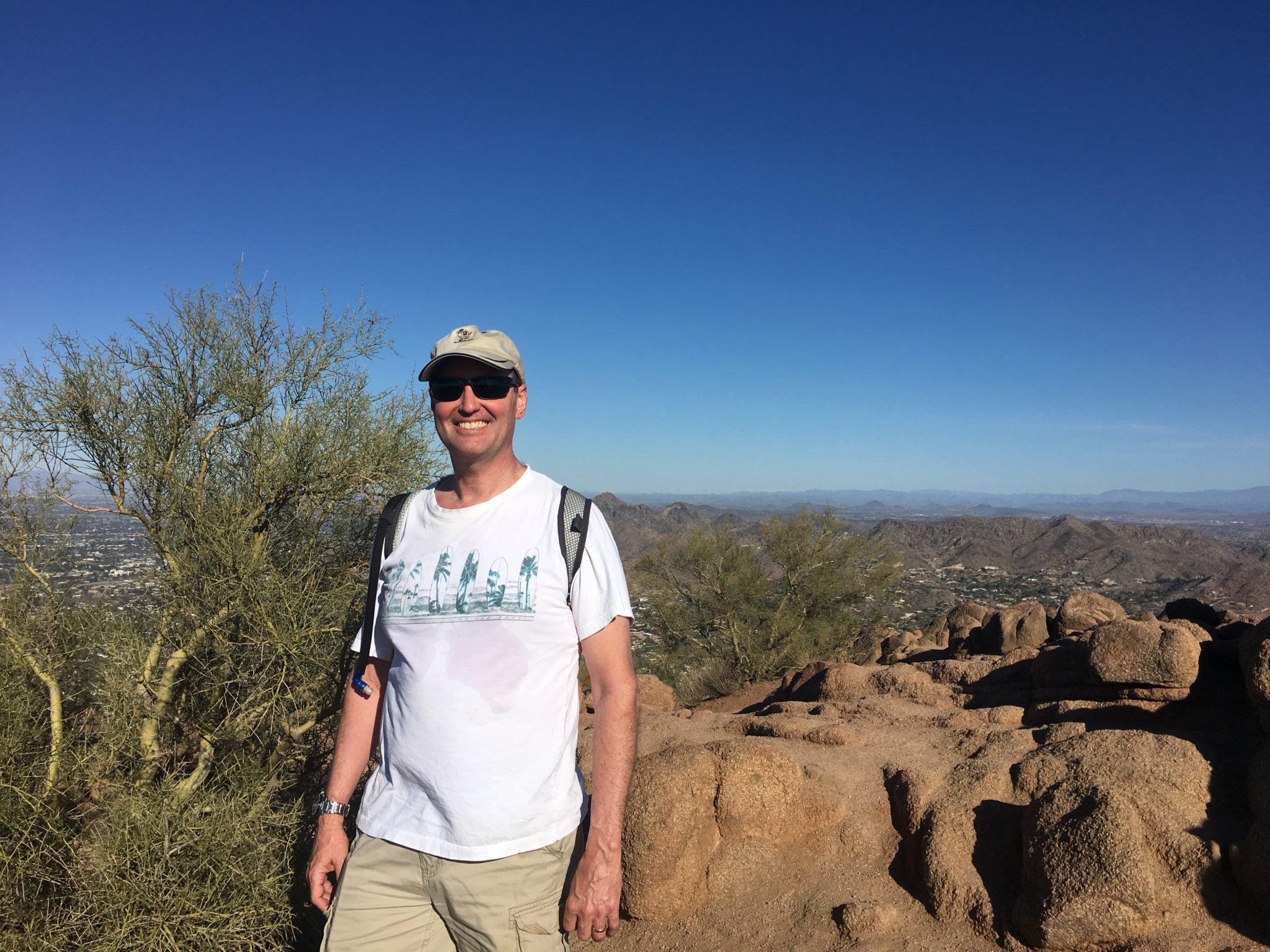 Climbing Camelback Mountain
