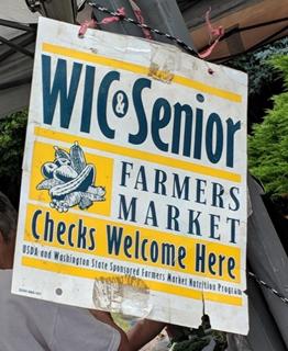 WIC & Senior Farmers Market taken by Adriana Ho